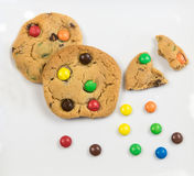 Delicious sweet cookies Royalty Free Stock Images