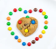Delicious sweet cookies Royalty Free Stock Image
