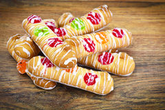 Delicious Sweet Cookies with Jujube Stock Image