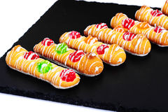 Delicious Sweet Cookies with Jujube Stock Photo