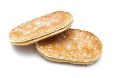 Delicious sweet crackers Royalty Free Stock Photography