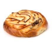 Delicious sweet cream bun Royalty Free Stock Photo