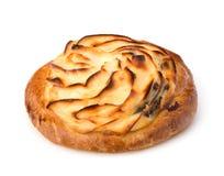 Delicious sweet cream bun Royalty Free Stock Image