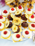 Delicious sweet desserts Royalty Free Stock Image