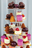 Delicious sweet desserts Stock Photos
