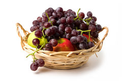 Delicious sweet fruit in basket Royalty Free Stock Image