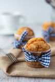 Delicious sweet muffins Stock Images