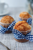 Delicious sweet muffins Royalty Free Stock Image