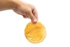 Delicious sweet pancake Royalty Free Stock Photos
