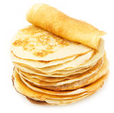 Delicious sweet pancakes Royalty Free Stock Photography