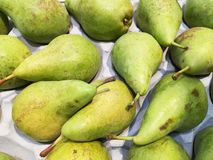 Delicious and sweet pears Stock Photos