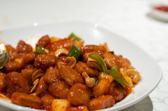 Delicious sweet and sour meat Royalty Free Stock Photo
