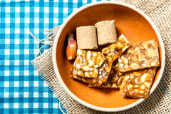 Delicious sweets for the Brazilian Festa Junina Party Royalty Free Stock Image