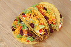 Delicious tacos Royalty Free Stock Image