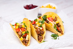 Delicious tacos Stock Image