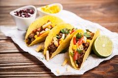 Delicious tacos Royalty Free Stock Photos