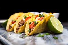 Delicious tacos Stock Photos