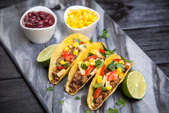 Delicious tacos Royalty Free Stock Images