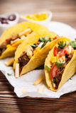 Delicious tacos Stock Photography