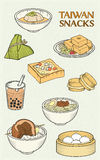 Delicious Taiwan Snacks Collection