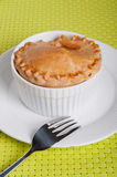 Chicken vegetable pie Stock Photos