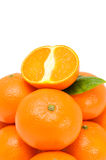 Delicious Tangerines Royalty Free Stock Photography