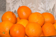 Delicious tangerines Royalty Free Stock Photos