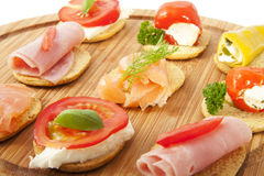 Delicious tapas Stock Photo
