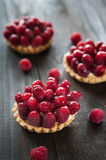 Delicious tart with berry fruits Royalty Free Stock Photo
