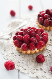 Delicious tart with berry fruits Stock Photo