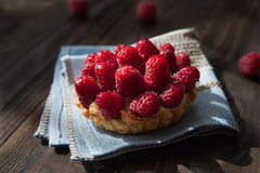 Delicious tart with berry fruits Royalty Free Stock Images
