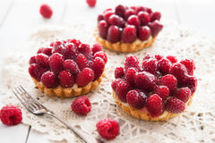 Delicious tart with berry fruits Stock Images