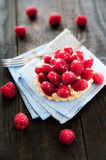 Delicious tart with berry fruits Stock Photos