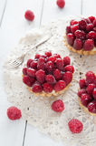 Delicious tart with berry fruits Royalty Free Stock Image