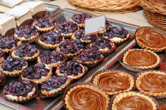 Delicious tarts Royalty Free Stock Photo