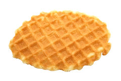 Delicious tasty waffle Royalty Free Stock Photos