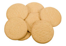 Delicious tea biscuits Royalty Free Stock Photography