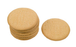 Delicious tea biscuits Royalty Free Stock Images