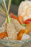 Delicious tempura (deep fried prawn), shallow depth of field Stock Photos