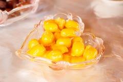 Delicious thai dessert set Royalty Free Stock Photo