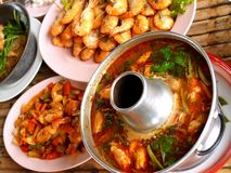 Delicious thai food 09. A photo of delicious thai food Royalty Free Stock Photography