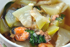 Delicious thai food. In a white cup Stock Images