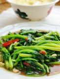 Delicious thai food. On white plate Stock Photo