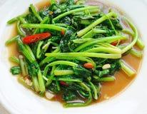 Delicious thai food. On white plate Royalty Free Stock Photos