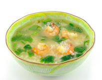 Delicious thai food. On white plate Stock Image