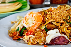 Delicious Thai food called Padthai 1 Royalty Free Stock Image