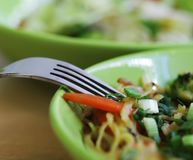 Delicious thai food. Close up Stock Photography