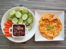 Thai food. Delicious Thai food royalty free stock photo