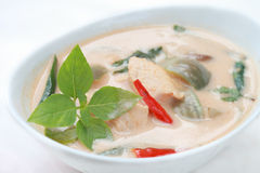 Delicious Thai panang chicken curry Royalty Free Stock Photos