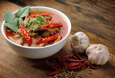 Delicious Thai panang curry Royalty Free Stock Images